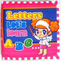Playmat Cloth Book-Letters 宝宝认识字母布书
