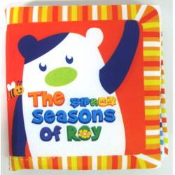 Playmat Cloth Book-Seasons 宝宝感...