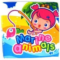 Playmat Cloth Book-Marine Anim...