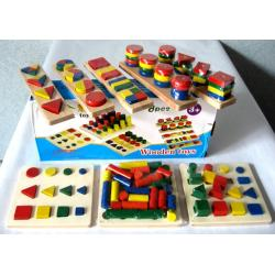 Montessori Teaching Boards 蒙氏教具组合8件套