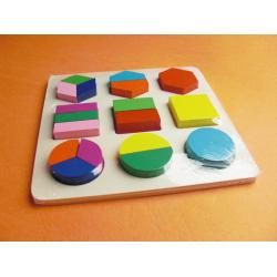 Montessori Little Shape Board (C Type)蒙氏小形状板(C 款)