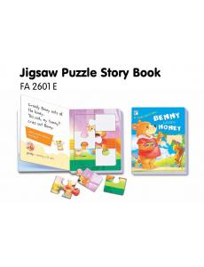 Jigsaw Puzzle Board Book: Benny Loves Honey