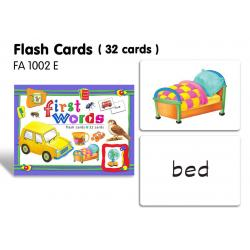 Flash Cards(32 cards)-First Words