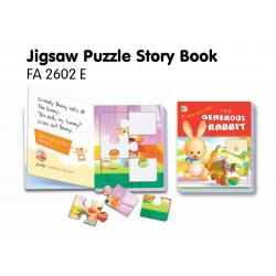 Jigsaw Puzzle Board Book-The Generous Rabbit