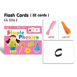 Flash Cards(32 cards)-Simple Phonics
