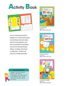 Fun with Writing,Counting & Time Tables (3 books)