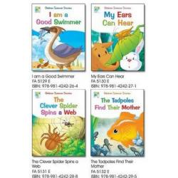 Science Story Set B (4 Books)