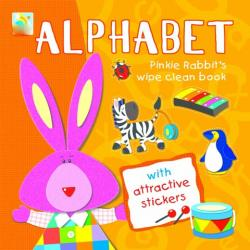 Wipe Clean Sticker Book-Alphabet