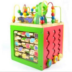 Parents Busy Zoo Activity Cube (Parents 忙碌的动物园大绕珠)