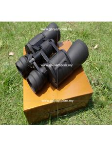 Binocular 10 - 70 x 70 Super Zoom High Resolution for Travel & Sports (10-70X70高倍高清/双筒 绿膜 微光夜视望远)