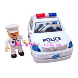 Transport Series-Police Car 惯性...
