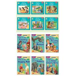 Paul And Mary Progressive Readers (Abridged Edition)(FULL SET/12 BOOKS)Free word list cards & mini whiteboard