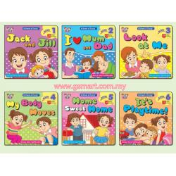 Jack And Jill Readers (Books 1-6)
