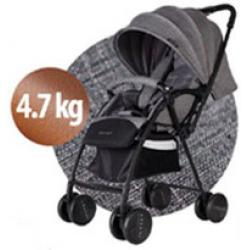 JETTE KINDERWAGEN (Model: Jimmy Melange)(GREY/BLACK)